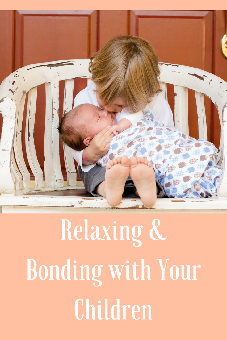 Top Tips for Relaxing & Bonding with Your Children