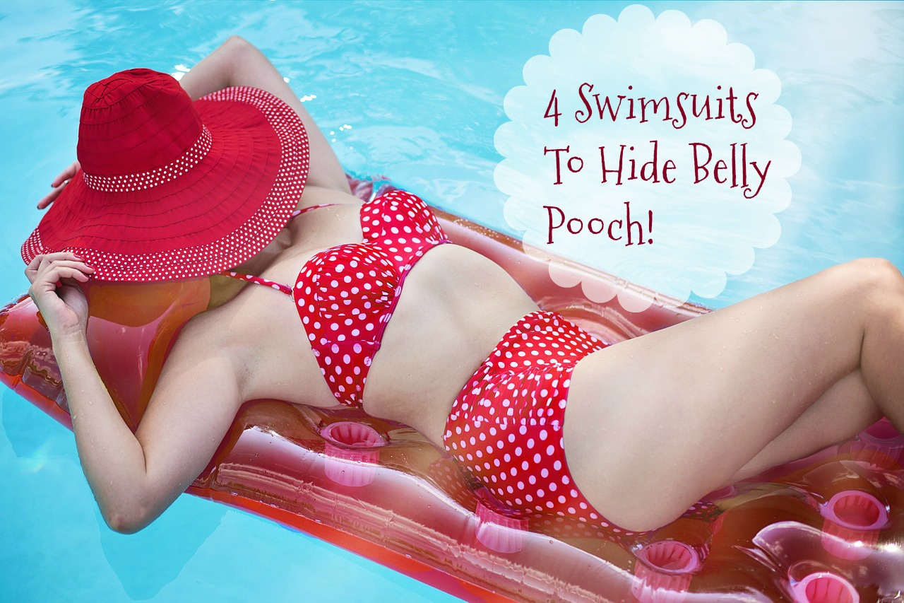 4 Swimsuits To Hide Belly Pooch