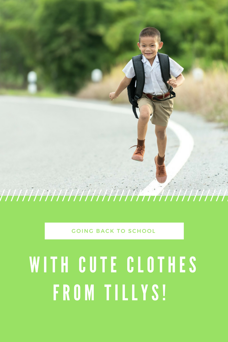 Going Back To School With Cute Clothes From Tillys