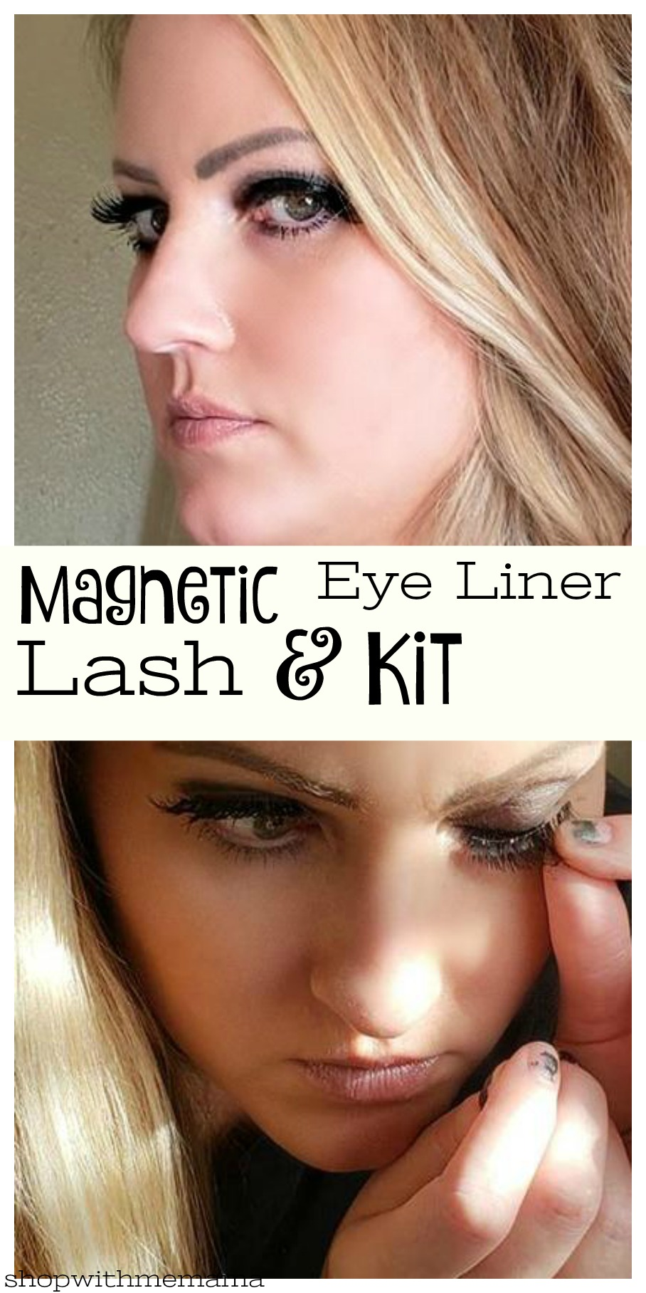 How do Magnetic eyelashes work