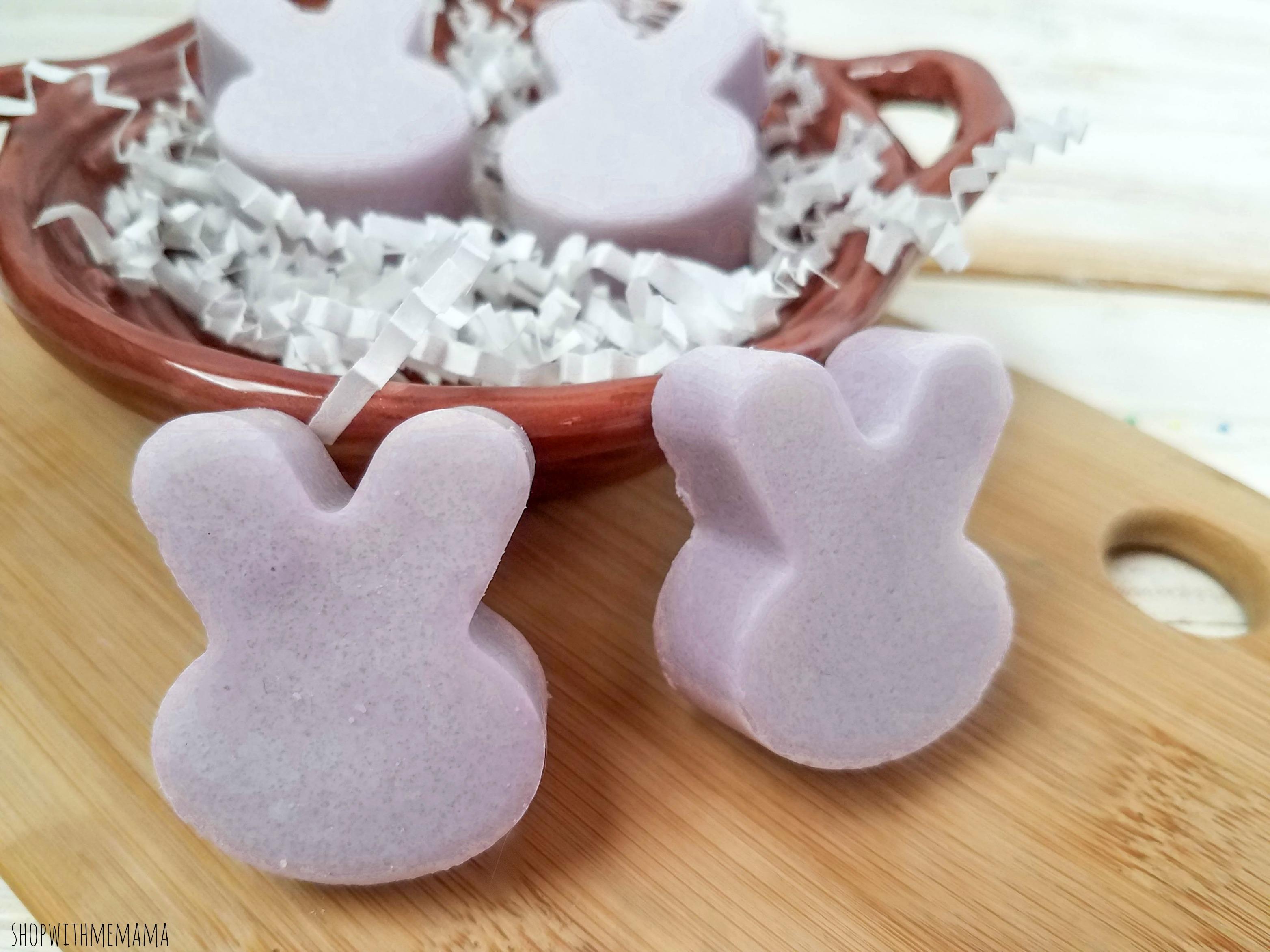 Lavender Sugar Scrub Bunnies