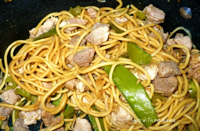 Bahmi Goreng, an Indonesian noodle dish, is a family favorite recipe from my husband's grandparents. It's so delicious and easy to make!