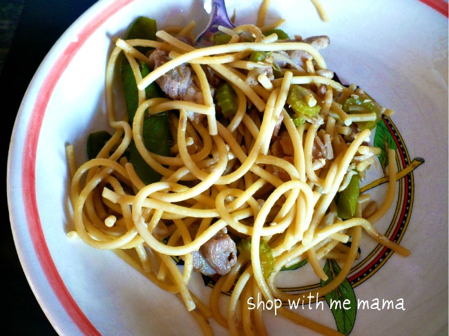 This delicious and easy Bahmi Recipe is an Indonesian stir fry noodle dish that's sure to be a hit with the whole family!