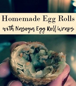 Love restaurant style egg rolls, but overwhelmed with the idea of making your own? It's so easy to make Homemade Egg Rolls using Nasoya Egg Roll Wraps!