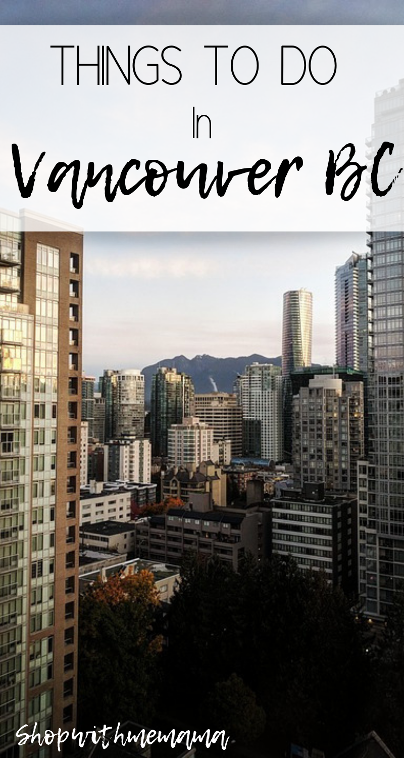 Things to do with Kids in Vancouver BC