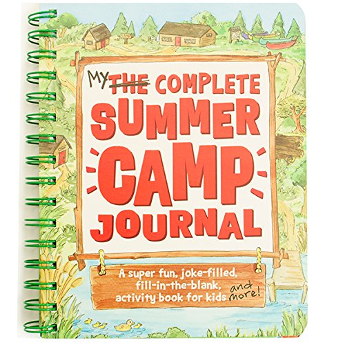 kids camping journal diary