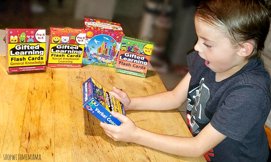 Gifted Learning Flash Cards