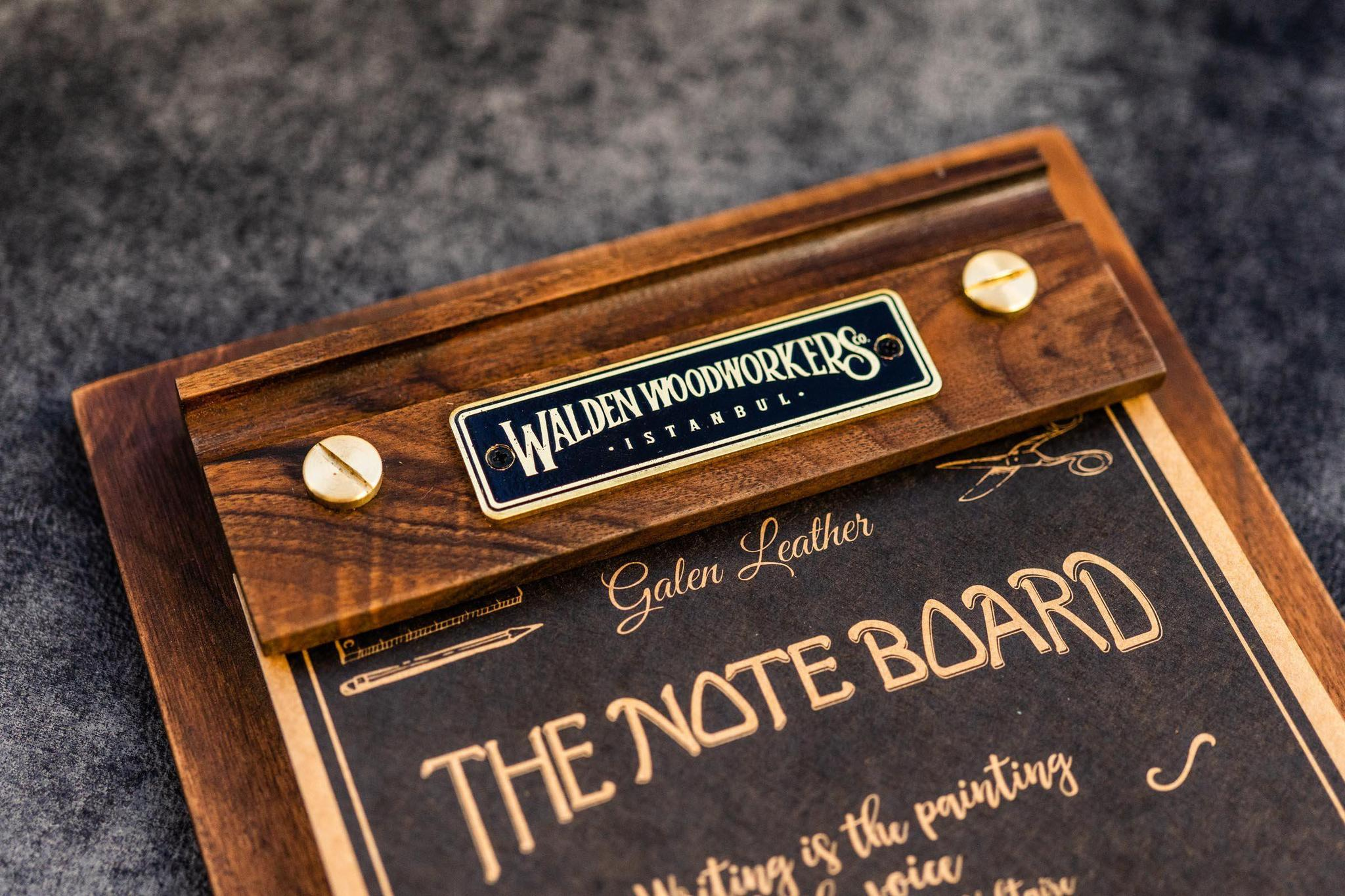 the note board