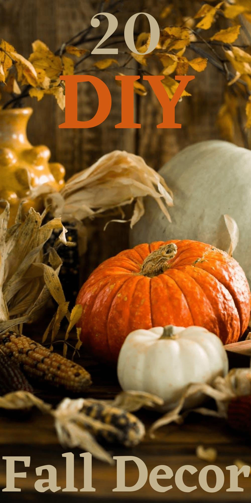 20 DIY Fall Decor