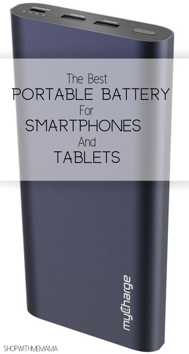 portable battery for smartphones and tablets
