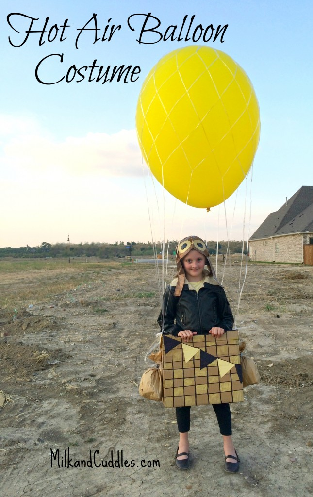 Hot Air Balloon Costume DIY