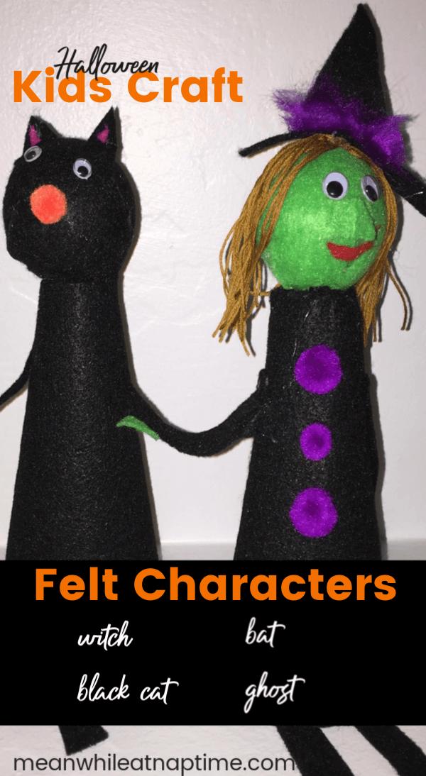 Halloween Felt Characters