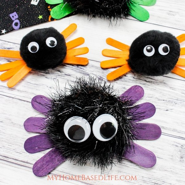 Halloween Hand spider craft