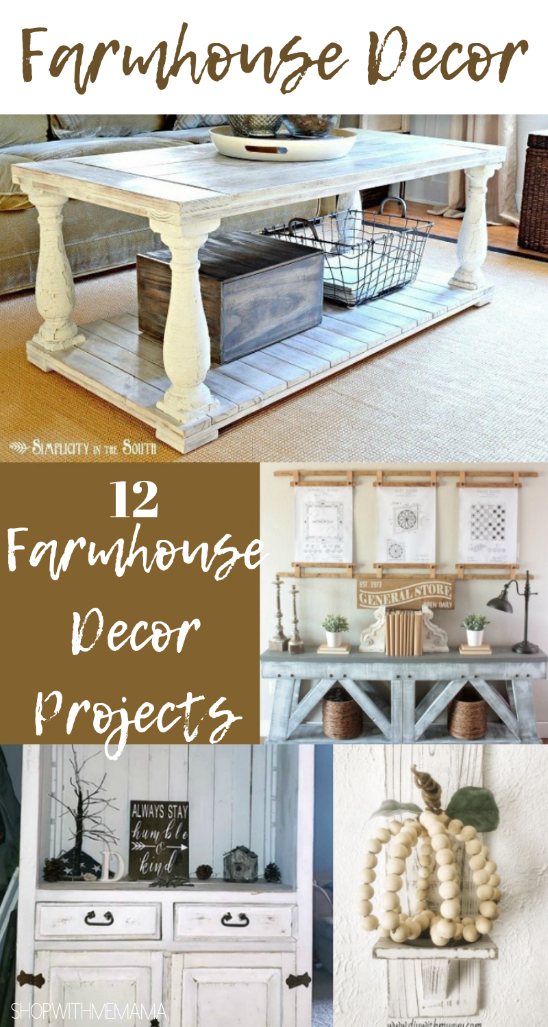 Farmhouse Decor That Will Make You Want To Redo Your Home!