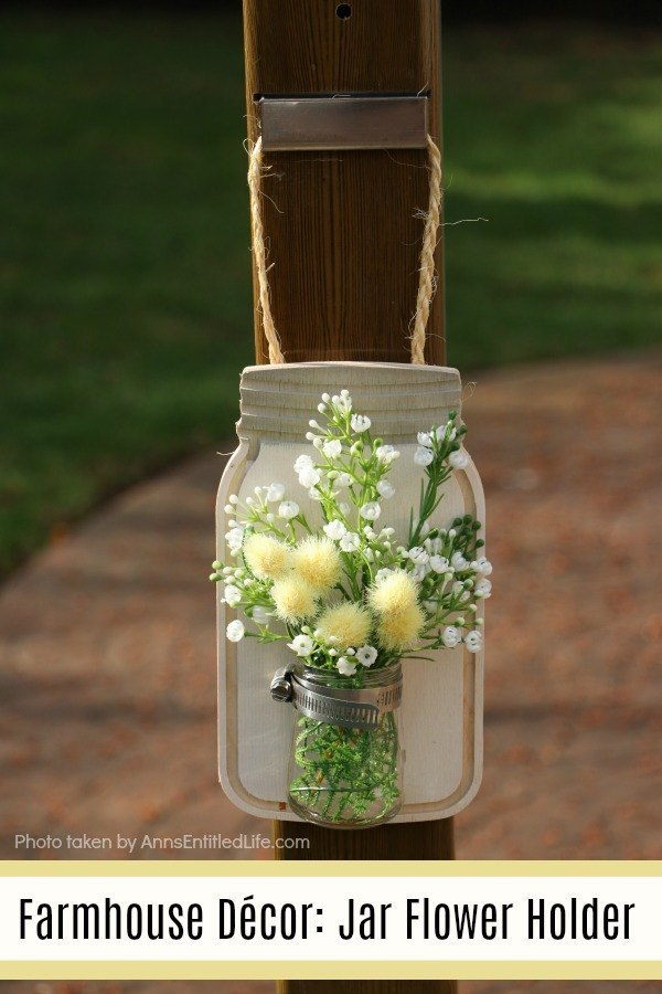 DIY Jar Flower Holder
