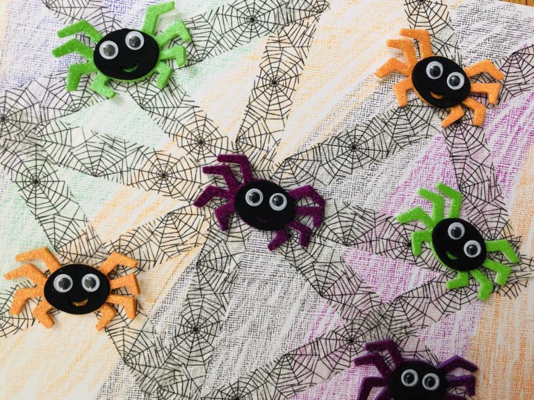 Washi Tape Halloween Craft