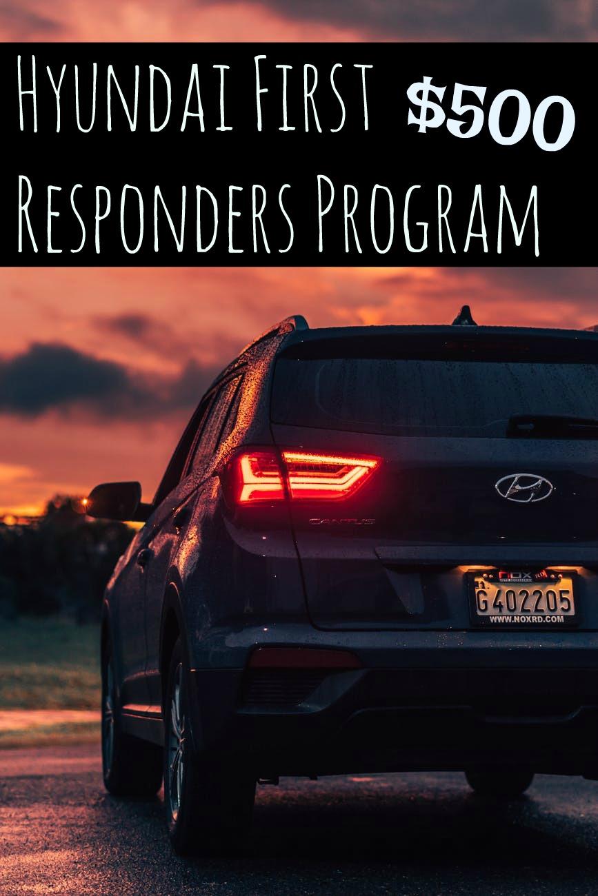 Hyundai First Responders Program