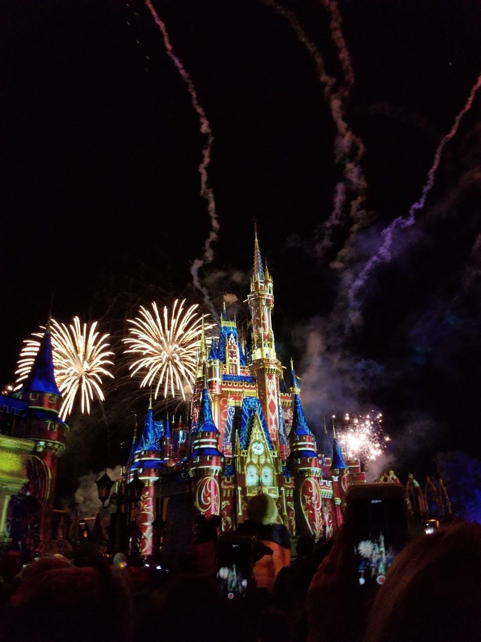Disneyland Castle from Pexels