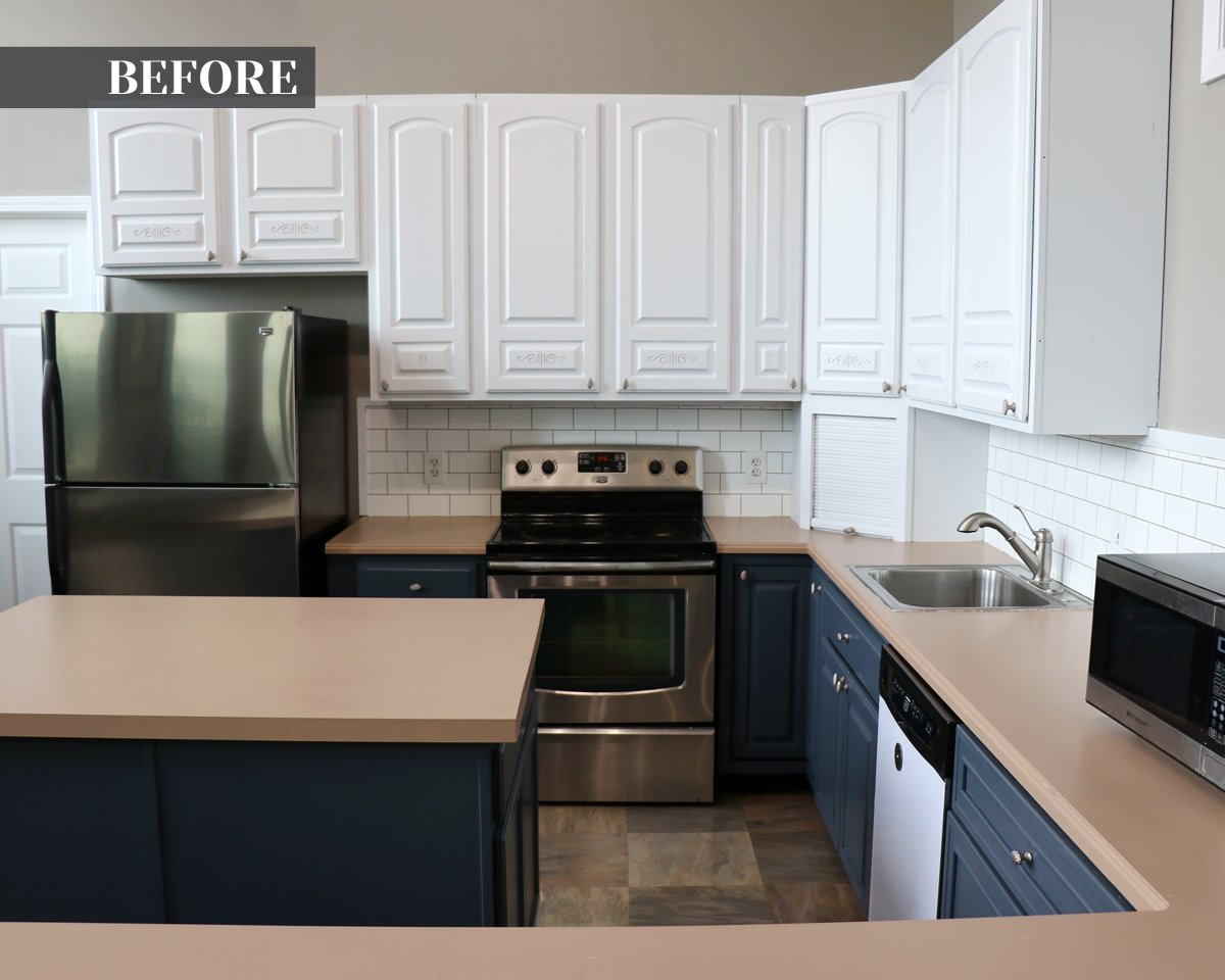 Giani Marble Countertop Paint Kit before picture