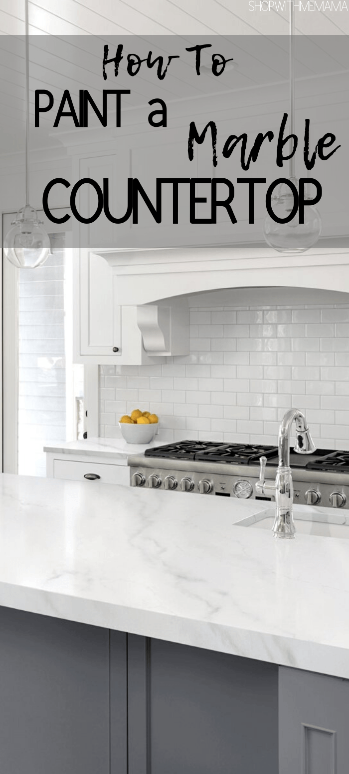 Giani Marble Countertop Paint Kit - Shop With Me Mama
