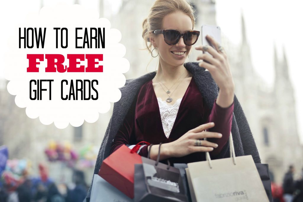 Earn Free Gift Cards