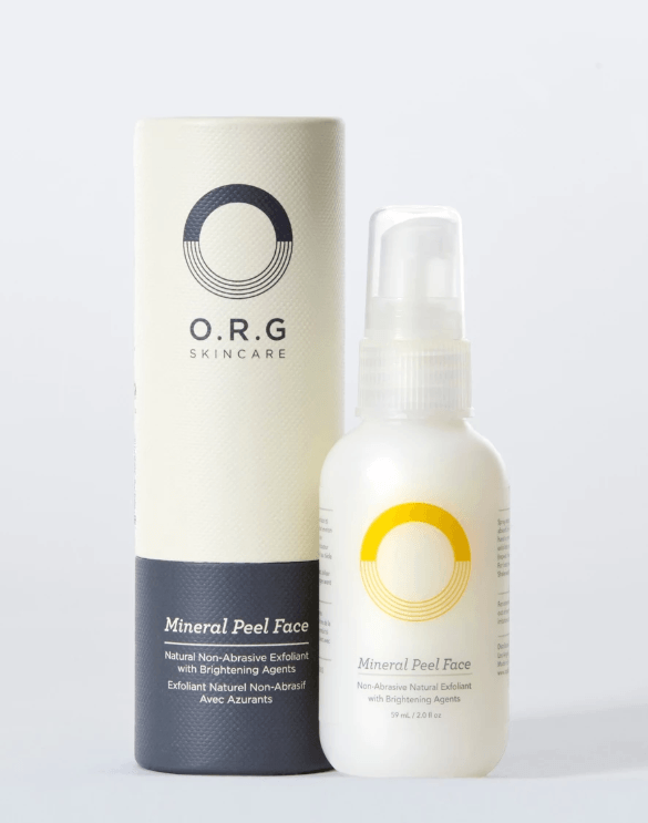 O.R.G Skincare Mineral Body and Face Peel