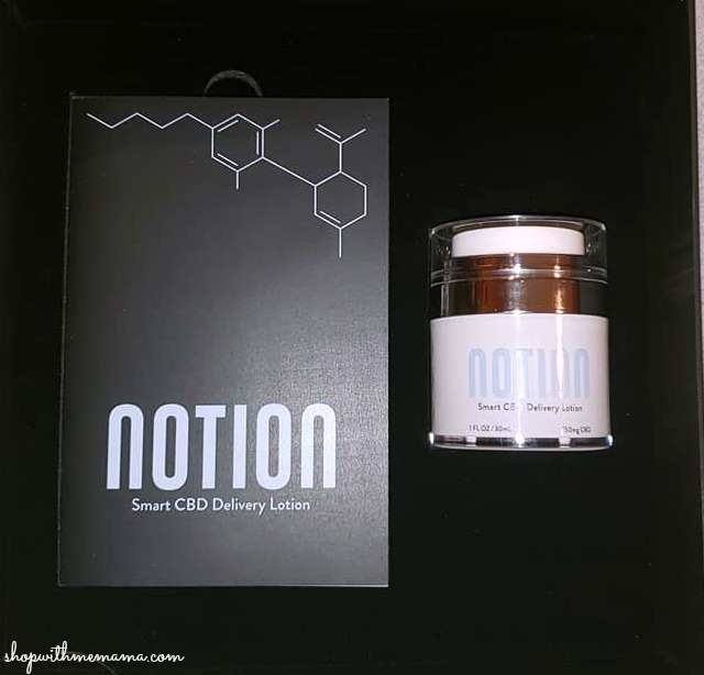 Notion Smart CBD Delivery Lotion