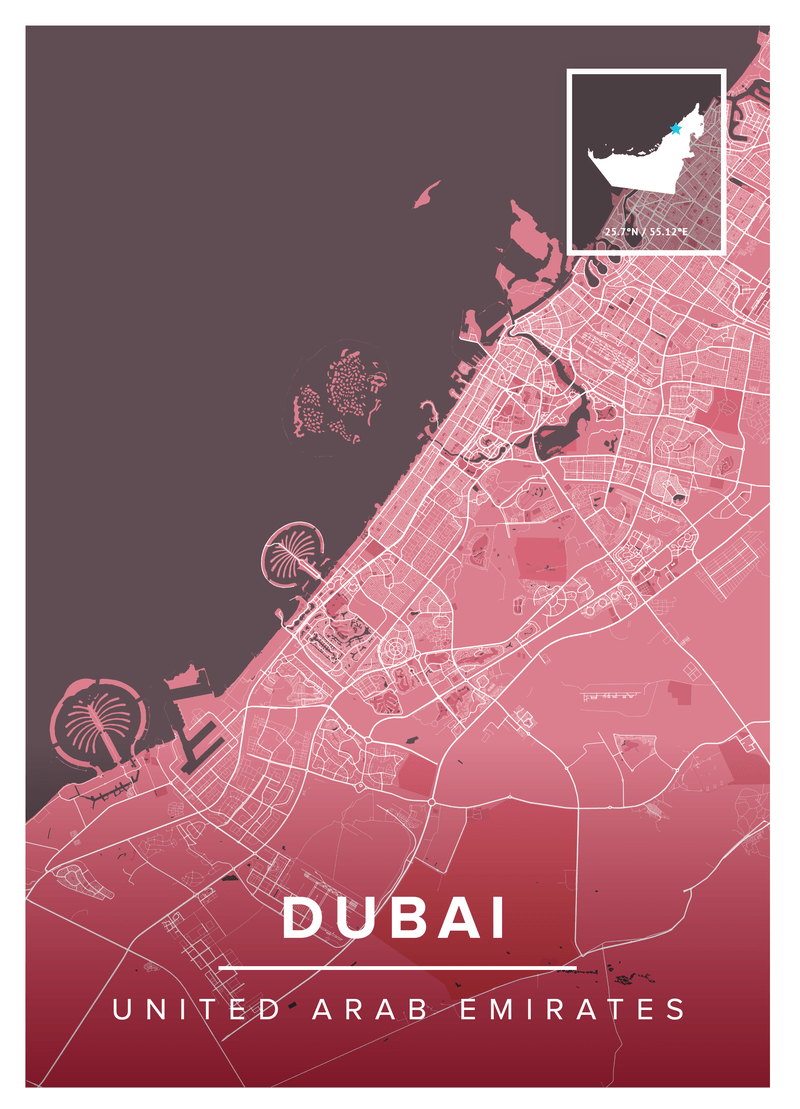 Dubai Map