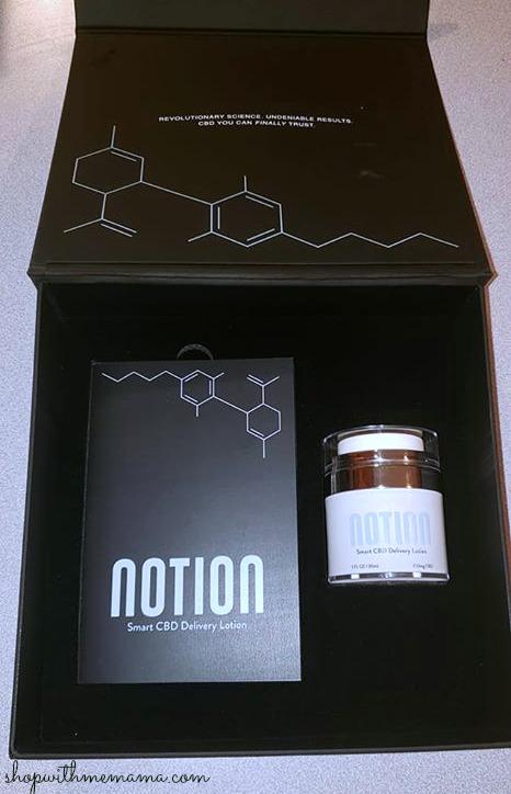 Notion Smart CBD Delivery Lotion