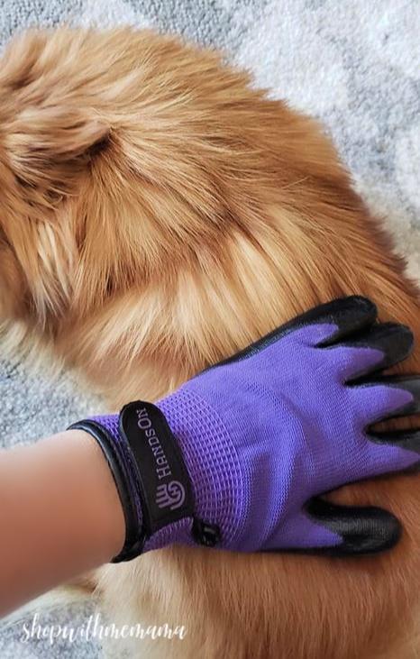 gloves for pet hair