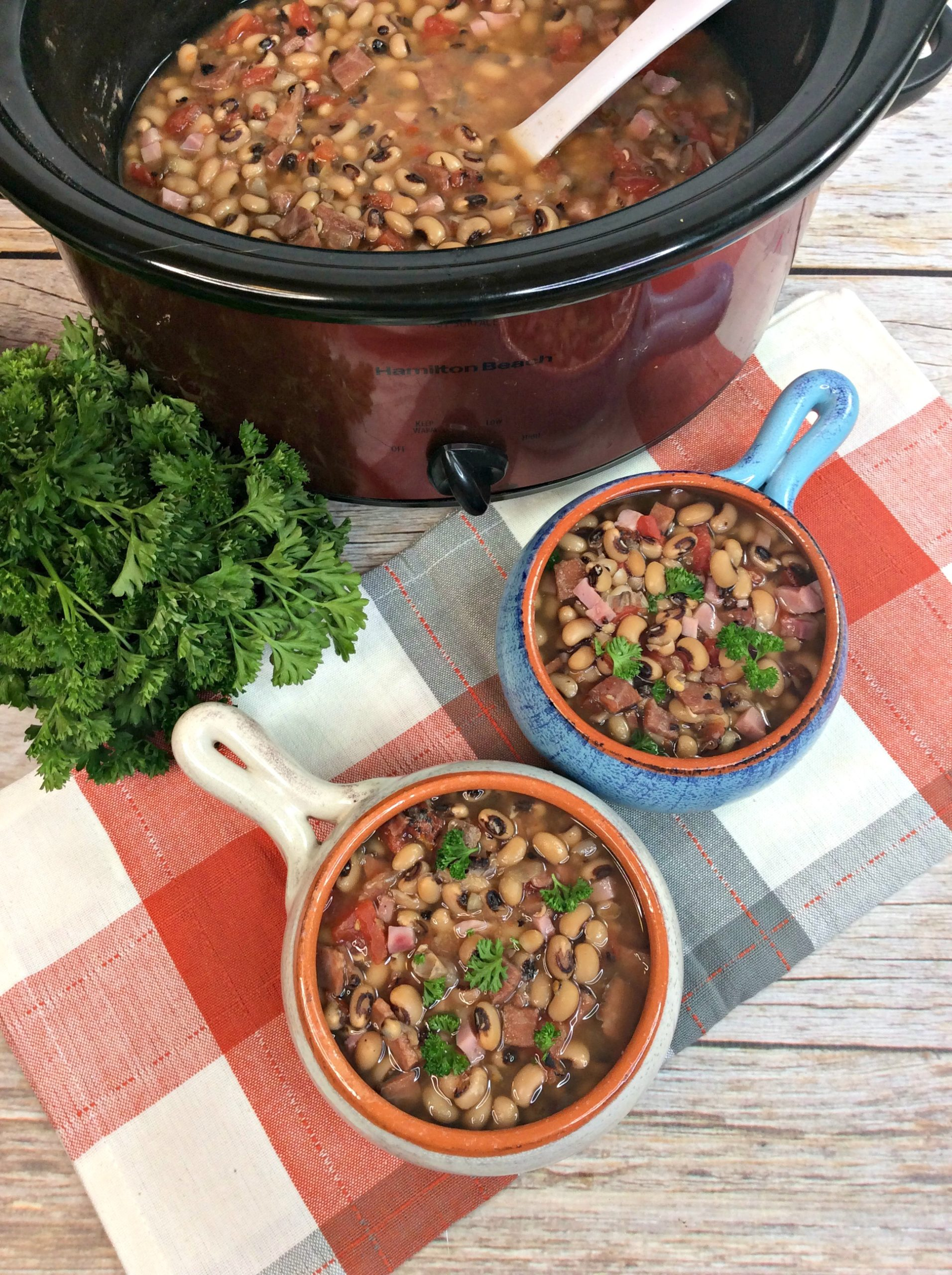 Recipe For Black-Eyed Peas In The Slow Cooker