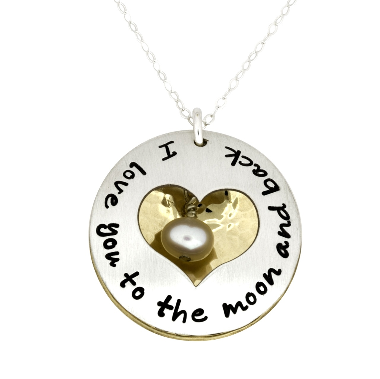 Engraved Heart Necklaces For Her