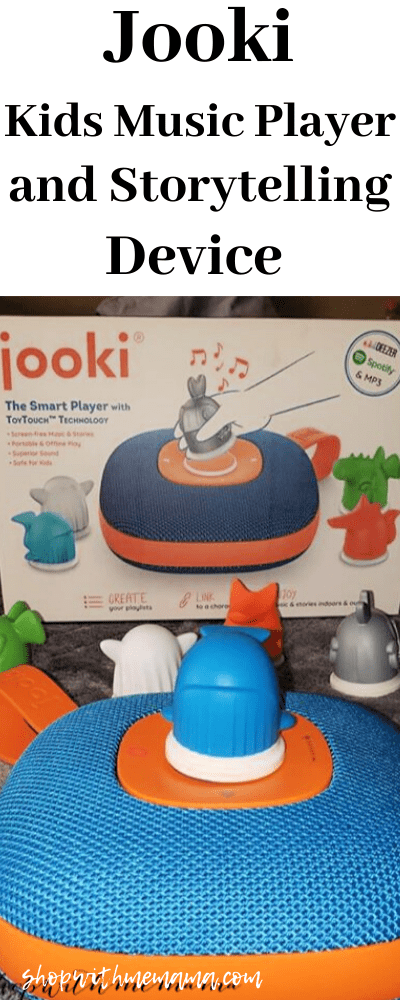 Jooki Kids Music Player And Storytelling Screen-Free Device