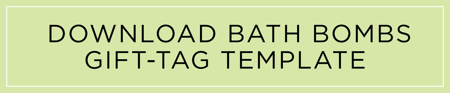 download bath bombs gift tag template