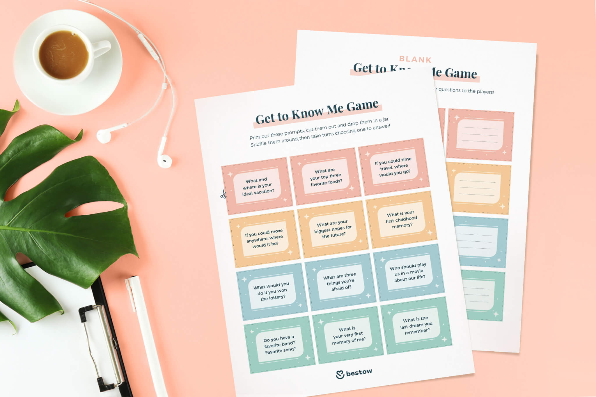 get to know me game printable