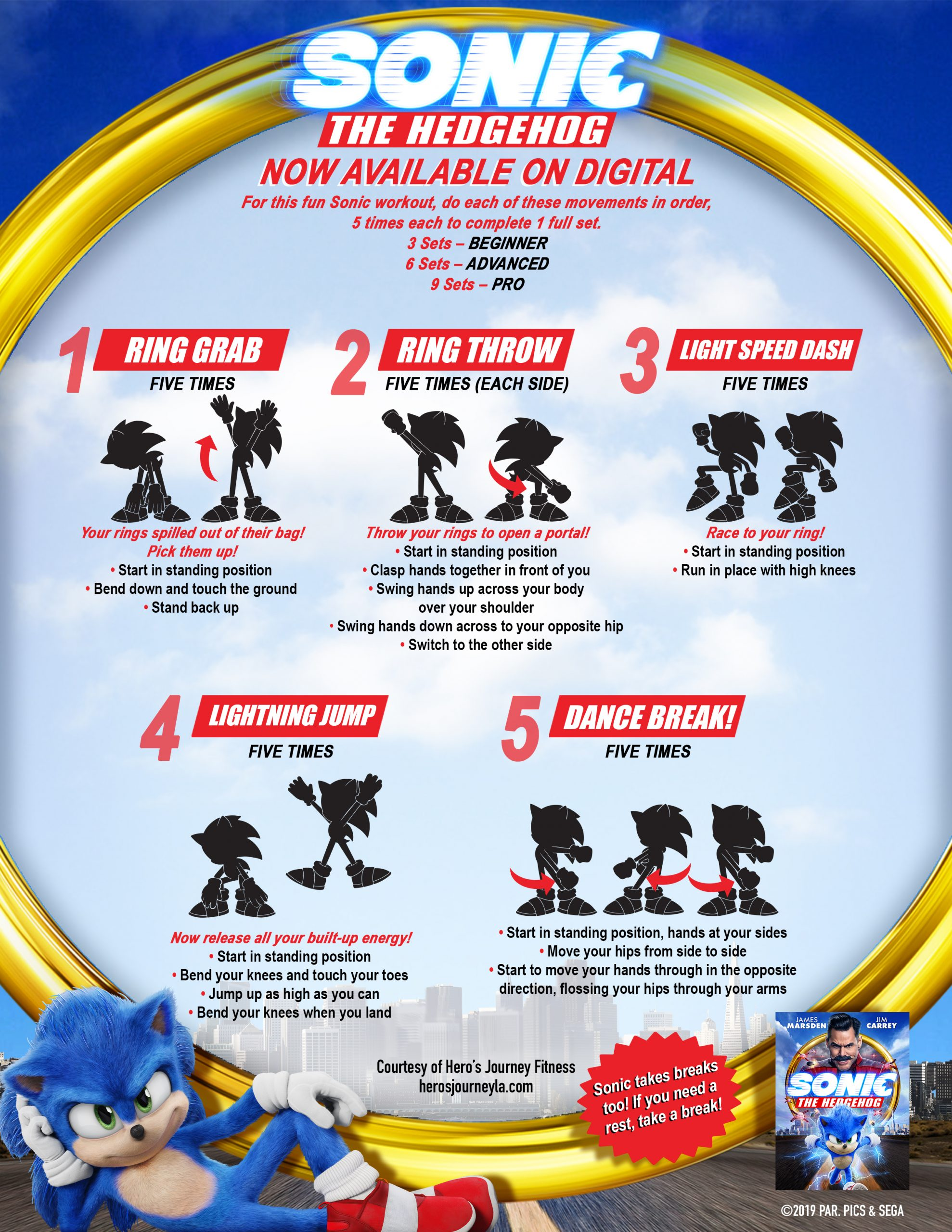 Sonic The Hedgehog Printables and Activities