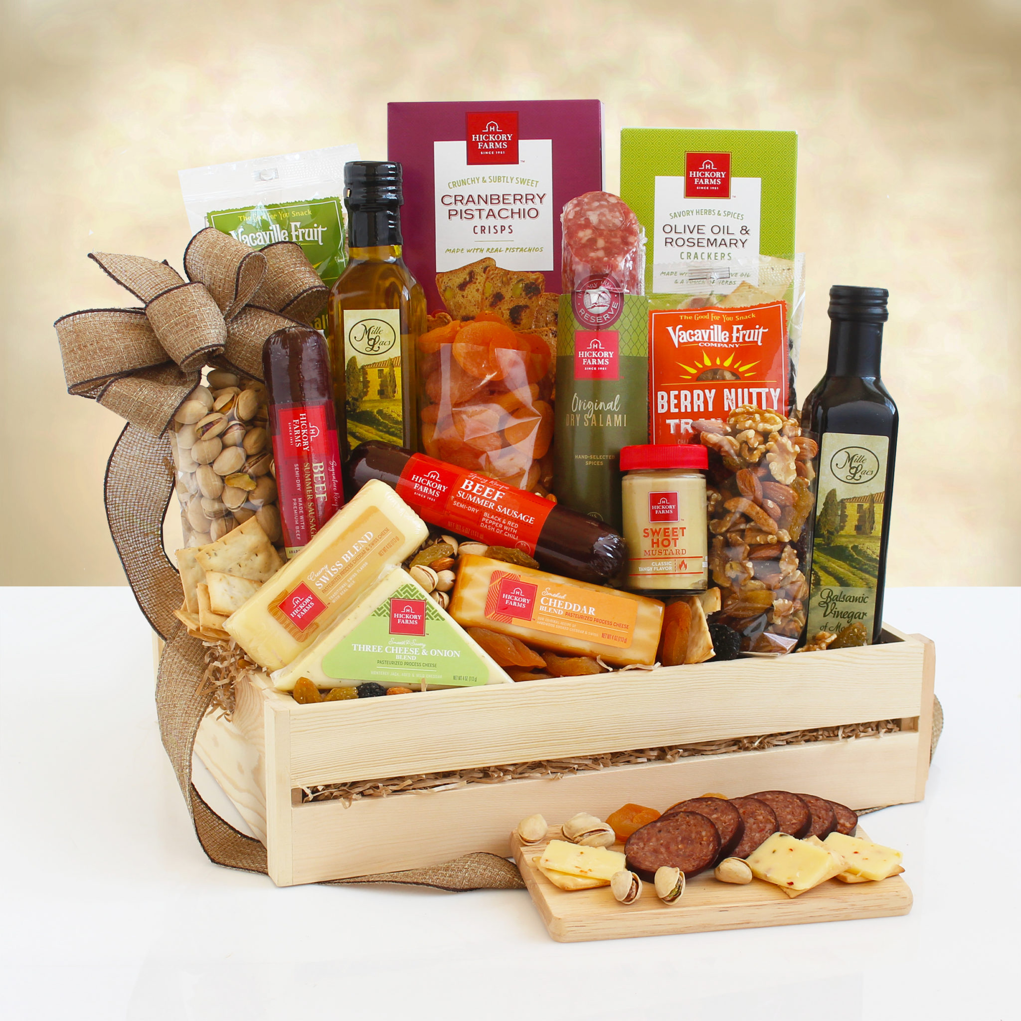Italian Meat And Cheese Gift Baskets