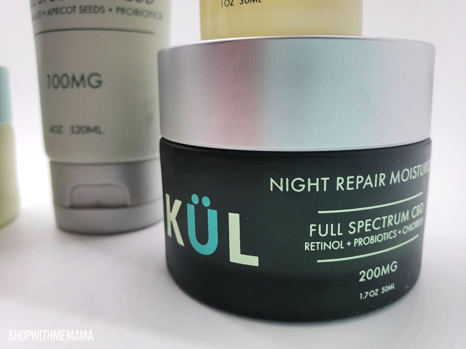 Night repair moisturizer cream
