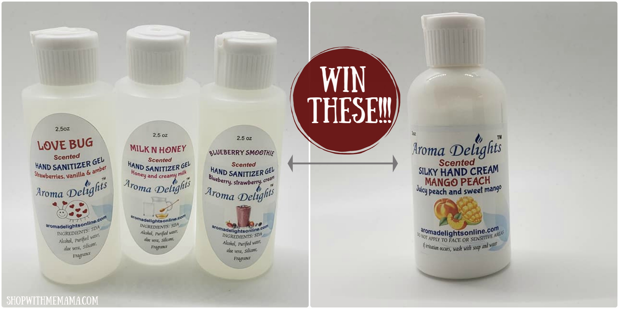 Win Aroma Delights Products