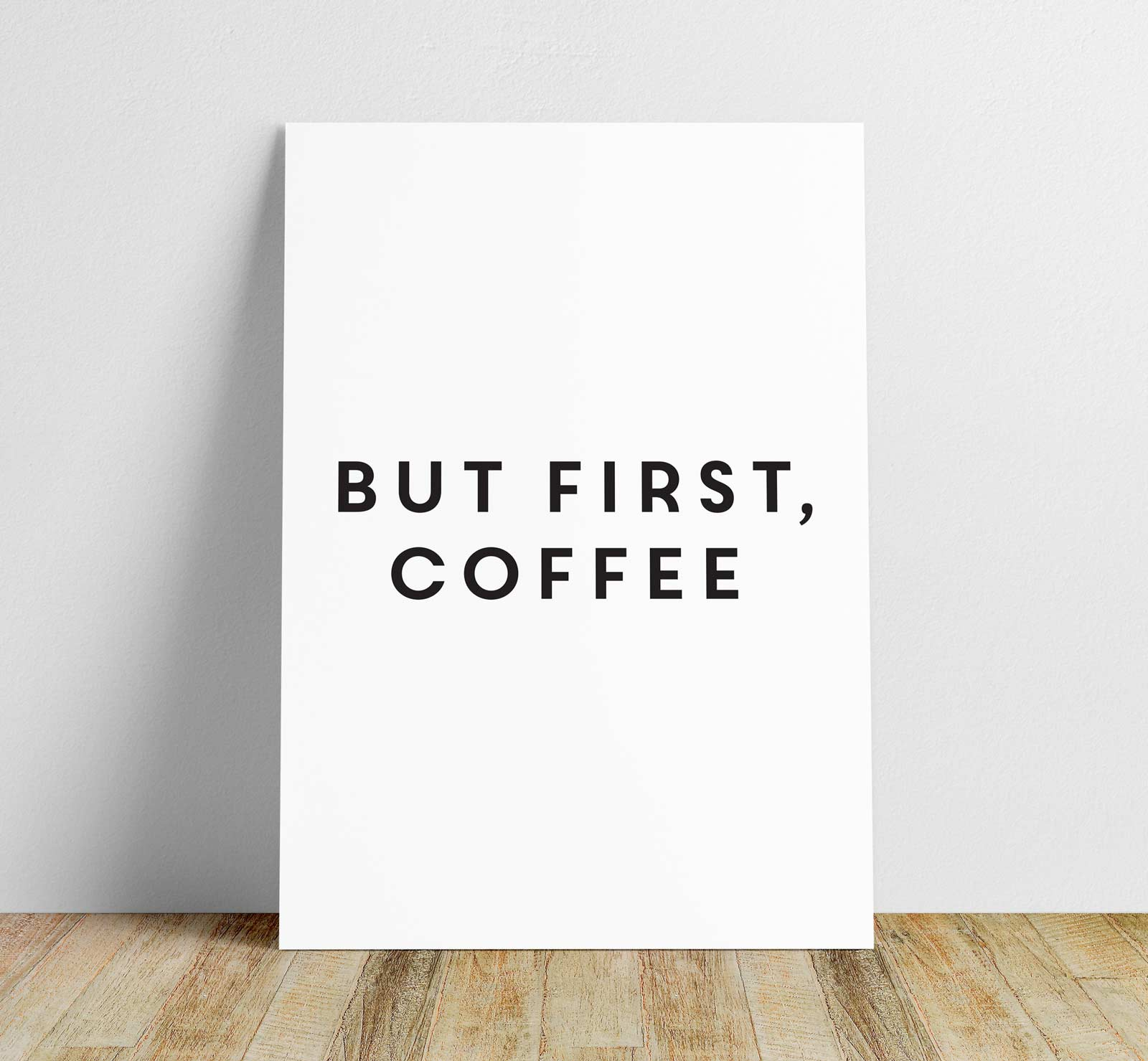 first coffee sign