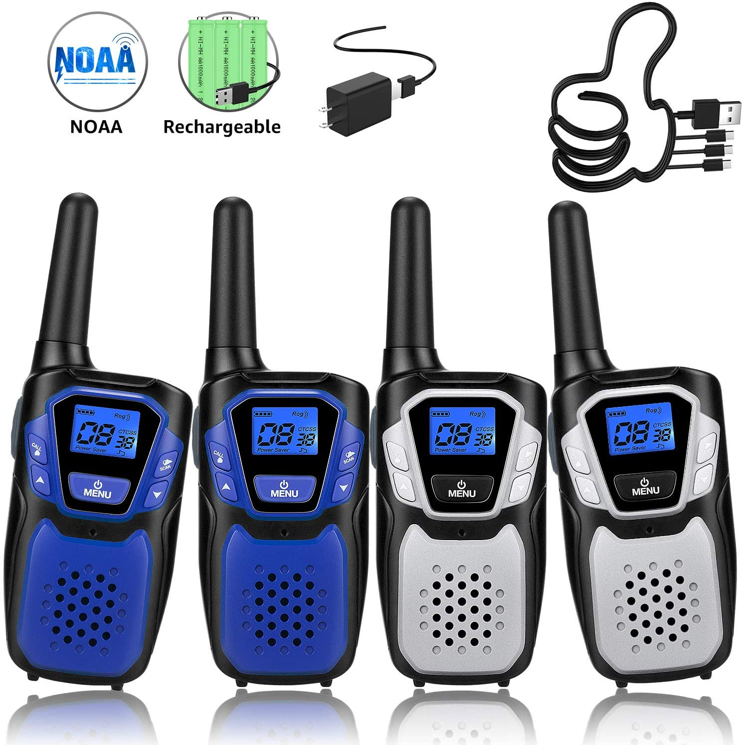 Rechargeable Walkie Talkies For Kids