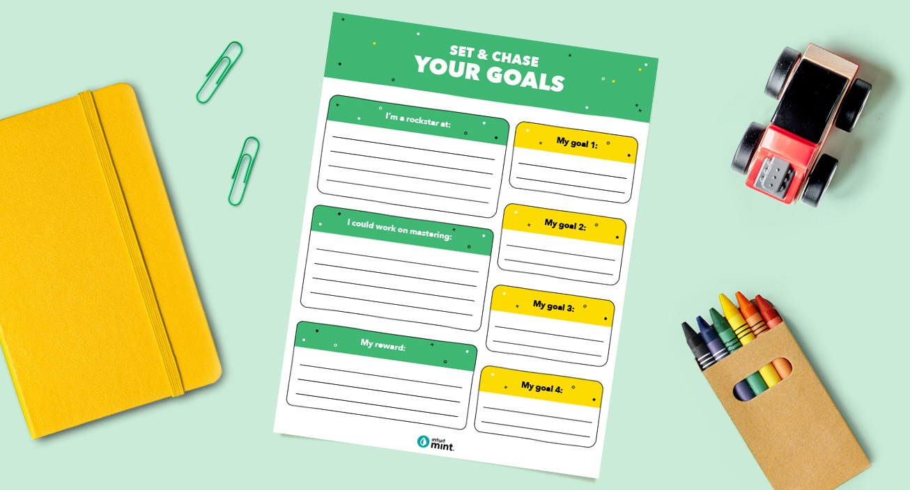 setting goals printable