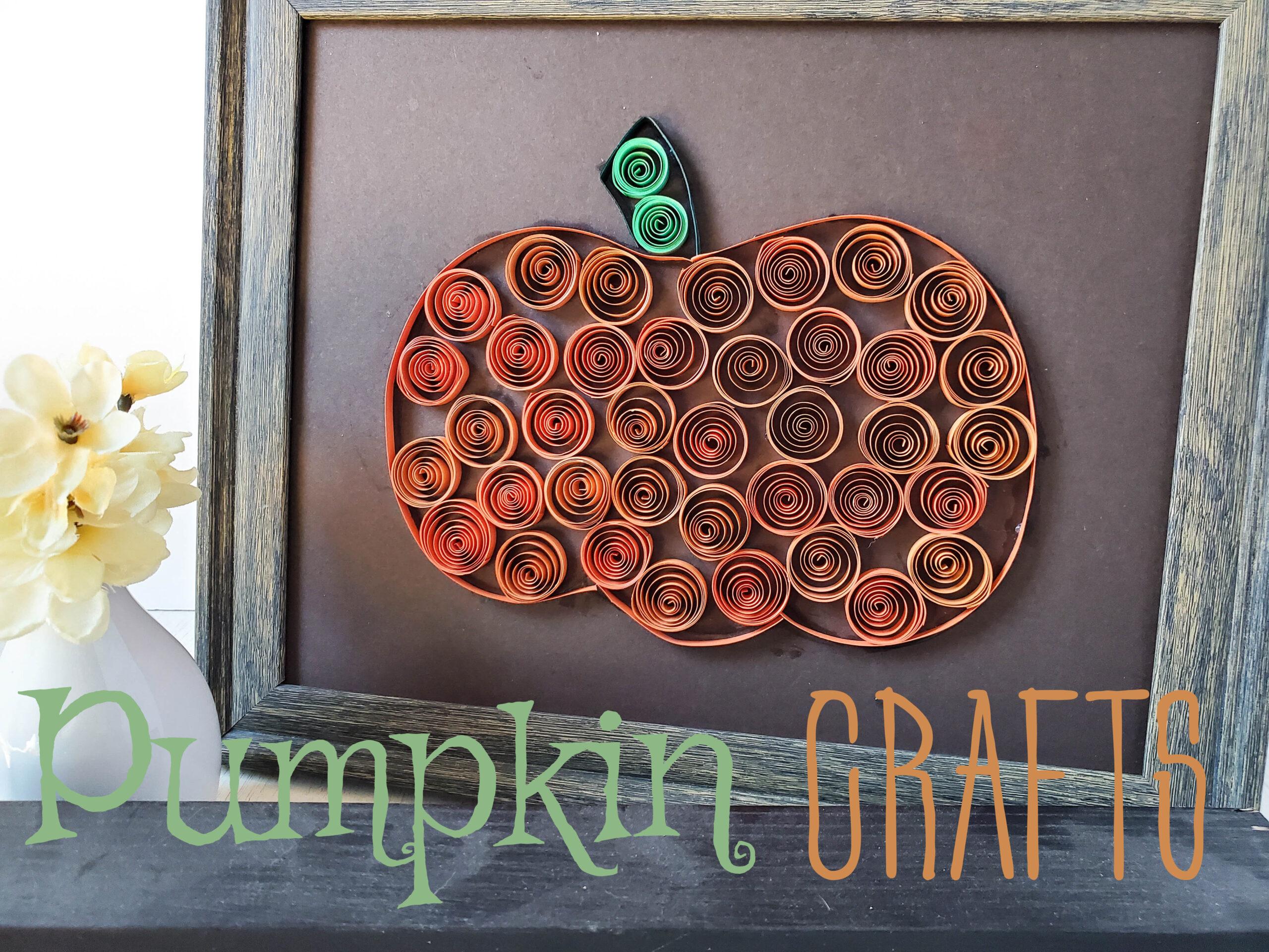 Pumpkin Crafts To Make This Fall