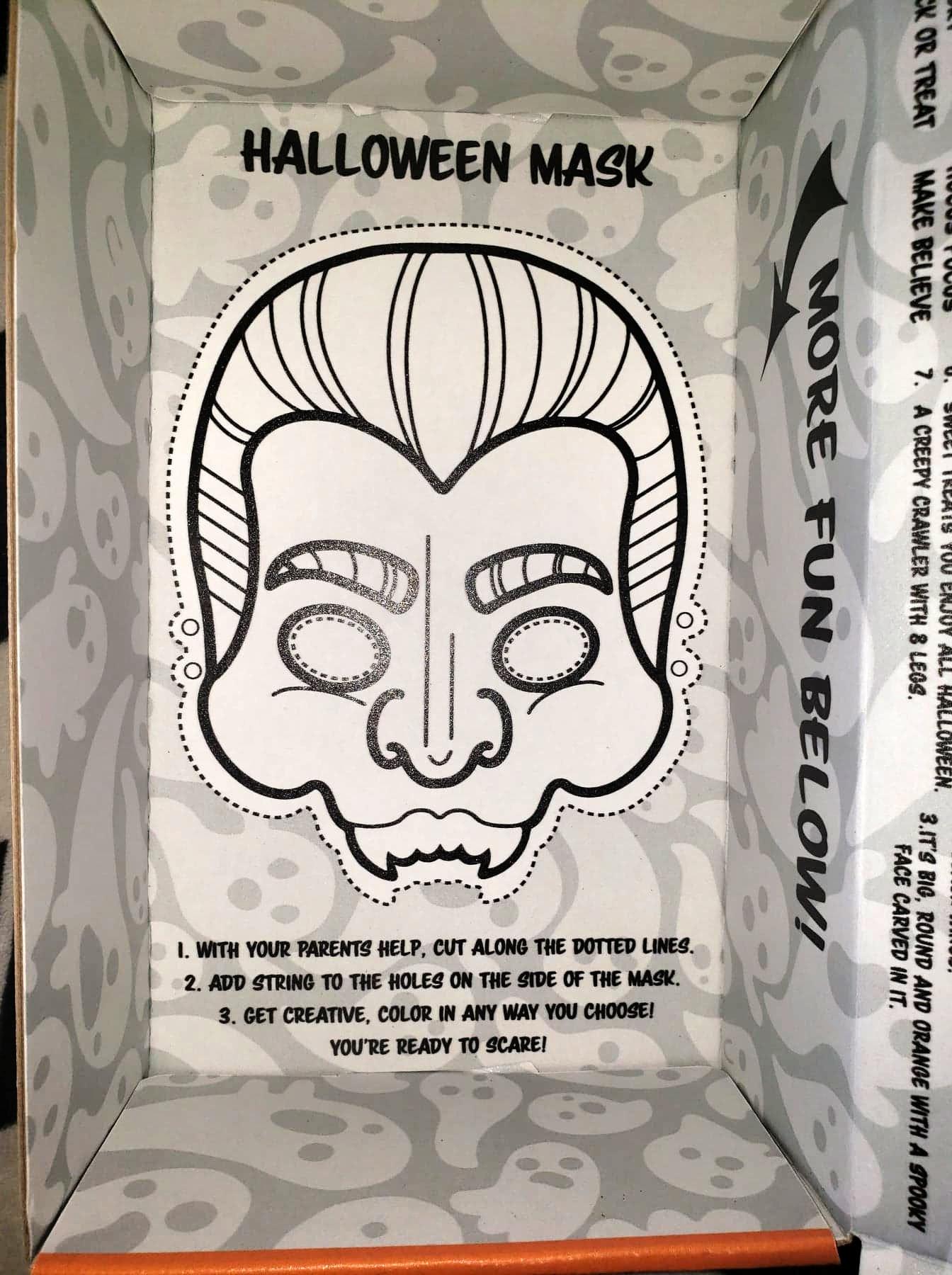 Halloween Mask Activity