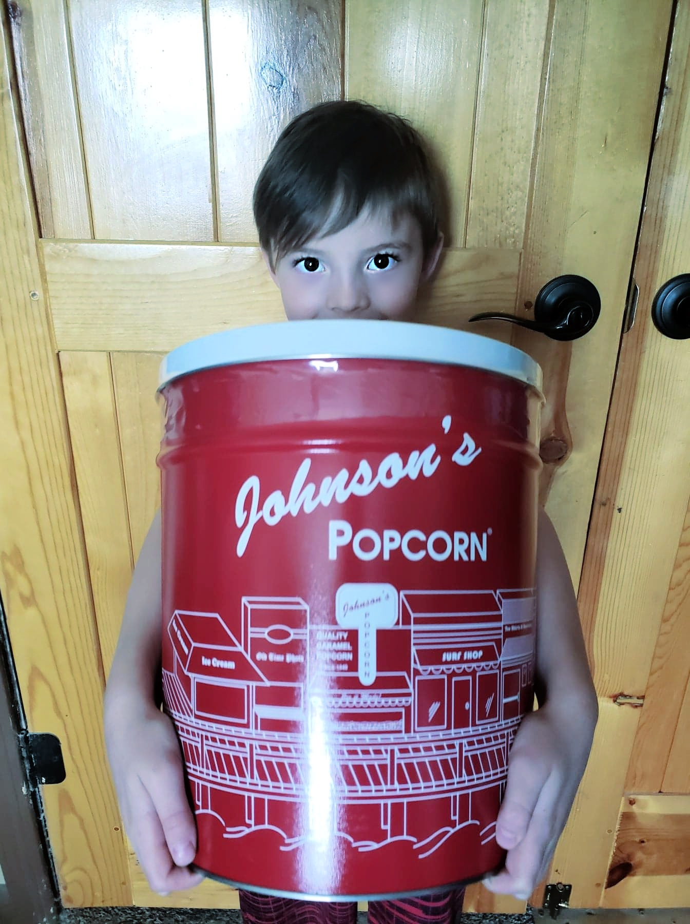 Johnson's Popcorn Is Delicious