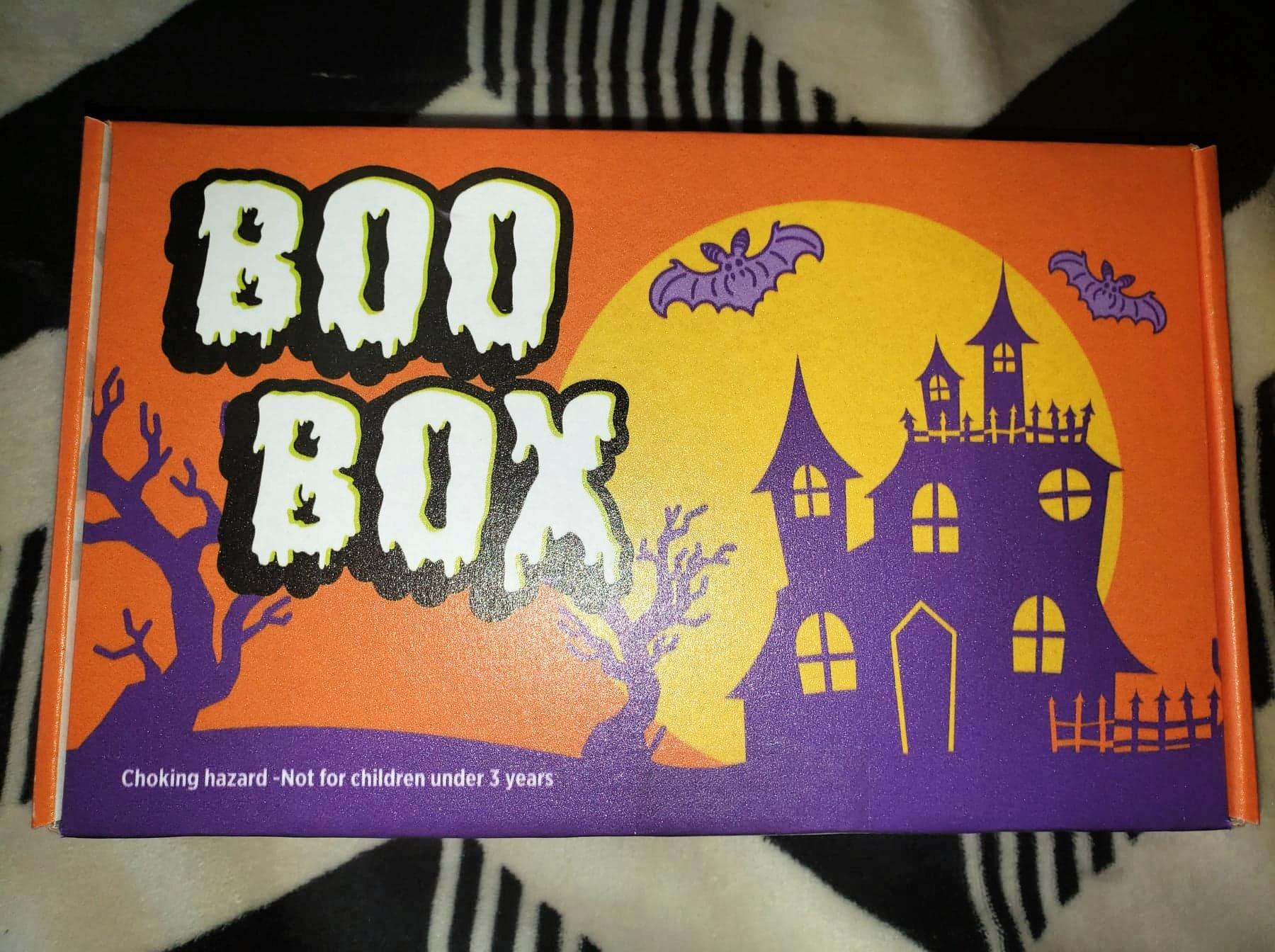 Boo Box Halloween Candy Box