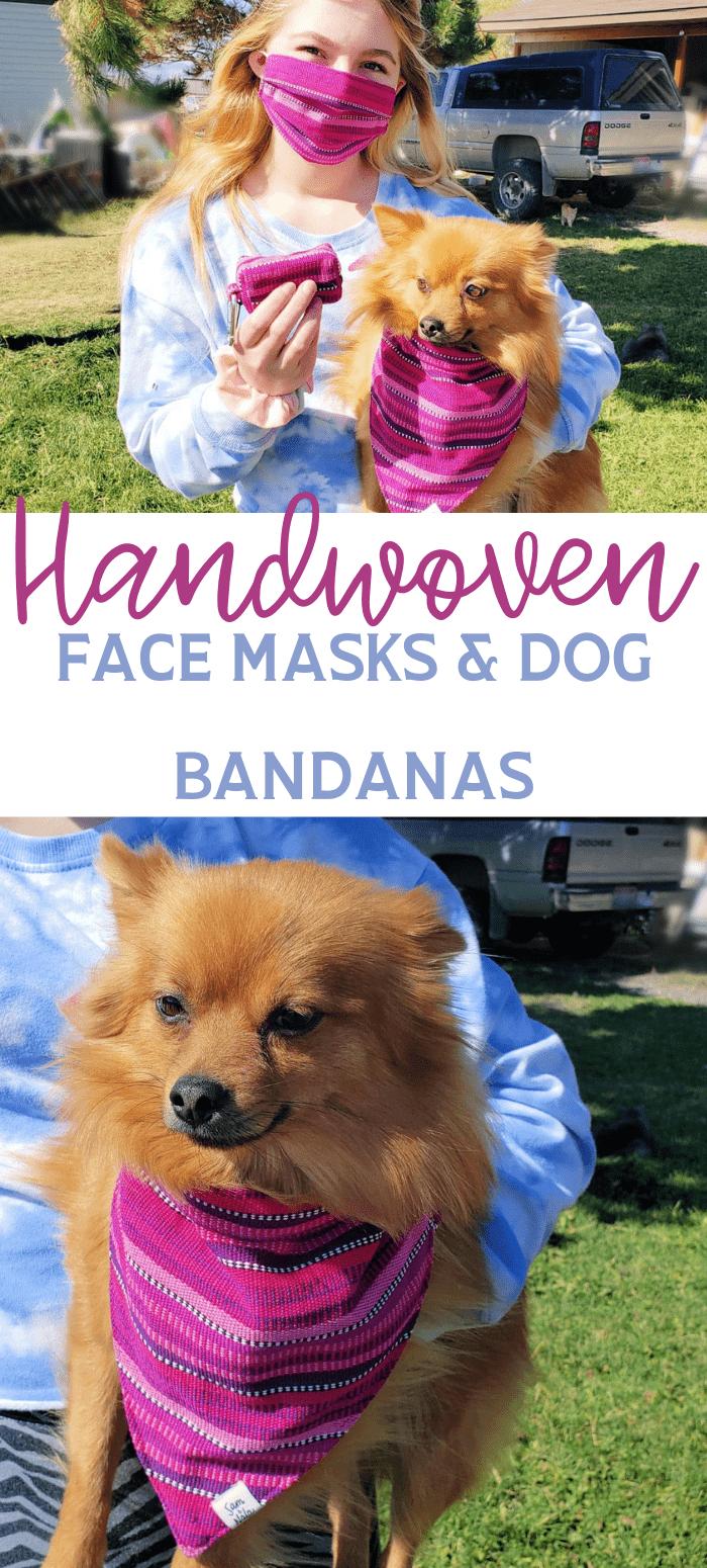 face masks and dog bandanas