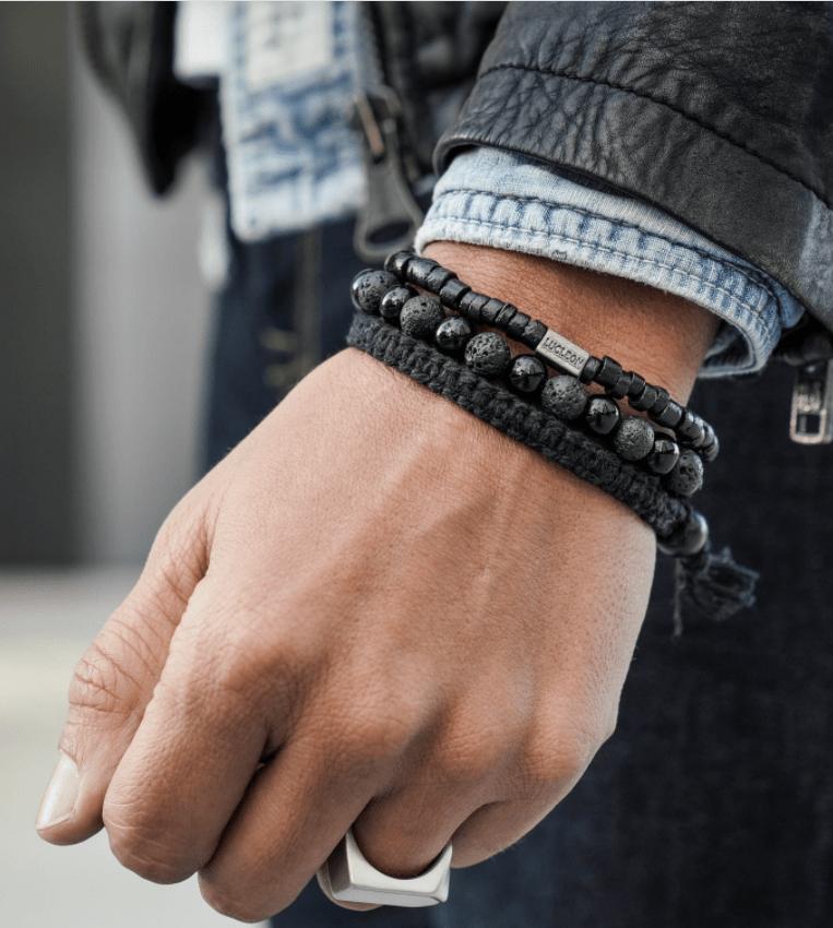 Stacked Men's Bracelet from Trendhim