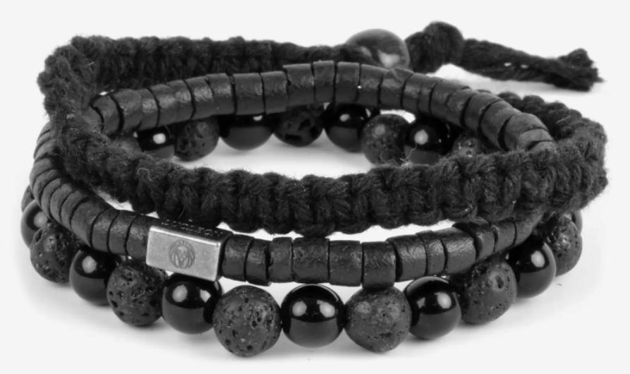 Black On Black Bracelet