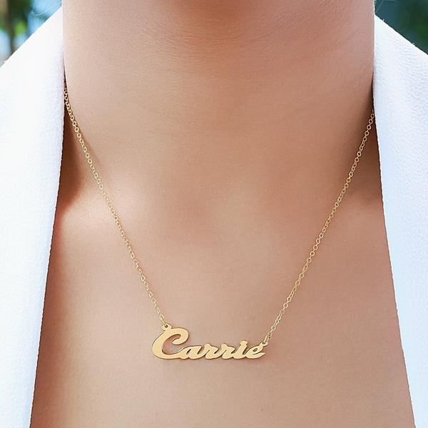 Name Necklace Jewelry